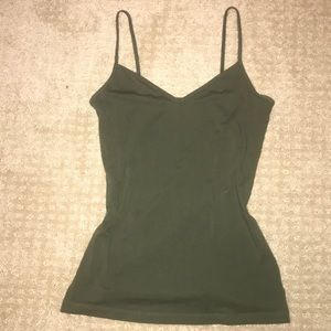 Old Navy olive green cami